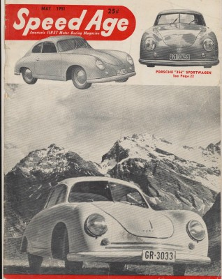 May 1951 Speed Age Motor Racing Magazine